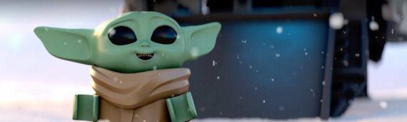 """LEGO STAR WARS Celebrate the Season"" – Baby Yoda fête l'hiver"