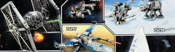 LEGO : Trois nouveaux sets Star Wars pour 2021