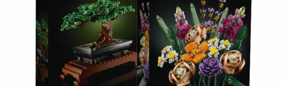 """LEGO – La nouvelle collection """"Botanique"""""""