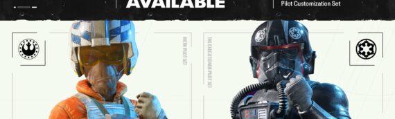 Star Wars Squadrons – Des skins supplémentaire pour le jeu