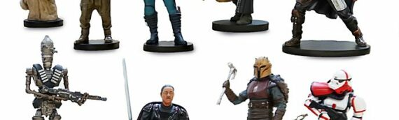 SHOP DISNEY – Le coffret de figurines The Mandalorian enfin disponible