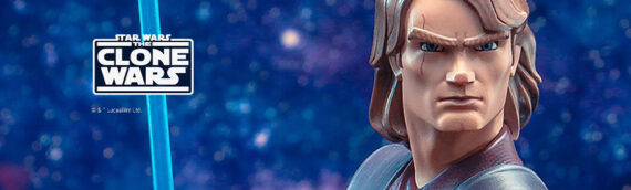 Gentle Giant – The Clone Wars Anakin Skywalker Animated Buste