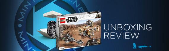 [Mintinbox Open the Box] LEGO Star Wars 75299 Trouble on Tatooine