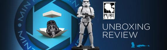 PURE ARTS – Unboxing de la statue 1/3 Star Wars Original Stormtrooper