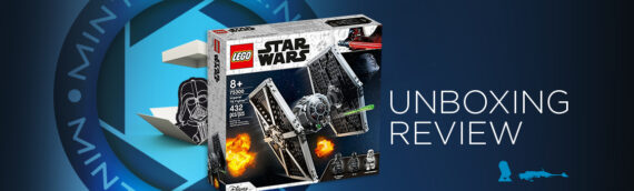 [Mintinbox Open the Box] LEGO Star Wars 75300 Imperial Tie Fighter