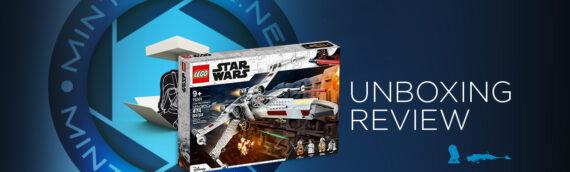[Mintinbox Open the Box] LEGO Star Wars 75301 Luke Skywalker's X-wing Fighter