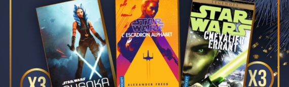 Calendrier de l'avent Star Wars de MINTINBOX – Jour 12 : Plusieurs romans offerts par Pocket