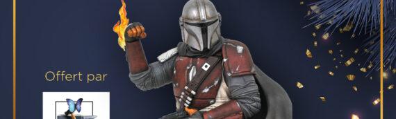 Calendrier de l'avent Star Wars de MINTINBOX – Jour 13 : Le buste de The Mandalorian offert par Gentle Giant