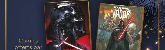 """Calendrier de l'avent Star Wars de MINTINBOX – Jour 17 : 2 livres Panini Comics """"L'ascension de Kylo Ren"""" et """"Cible Vador"""""""