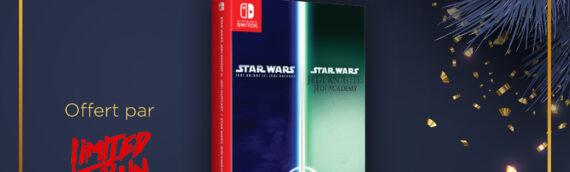 Calendrier de l'avent Star Wars de MINTINBOX – Jour 20 : Le pack de jeu Star Wars Jedi Outcast/Jedi Academy offert par Limited Run Games