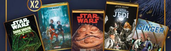 Calendrier de l'avent Star Wars de MINTINBOX – Jour 21 : Plusieurs comics offerts par les éditions Delcourt