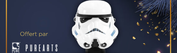 Calendrier de l'avent Star Wars de MINTINBOX – Jour 23: La réplique du casque du Stormtrooper ANH à l'échelle 1/3 offert par PureArts