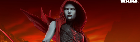 Sideshow Collectibles – Les photos des productions d'Asajj Ventress Mythos Statue
