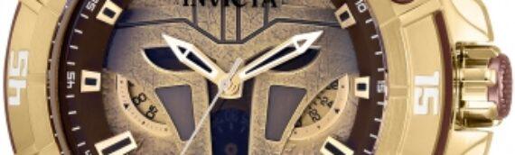 INVICTA : Une montre aux couleurs de l'armurière de The Mandalorian