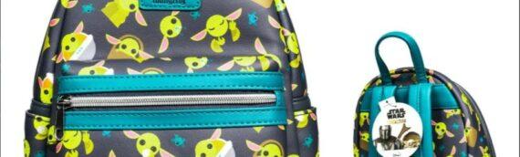 Entertainment Earth Exclusive : Un sac à dos Loungefly avec plein de Grogu