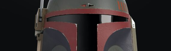 HASBRO – The Black Serie BOBA FETT Re-Armored HELMET