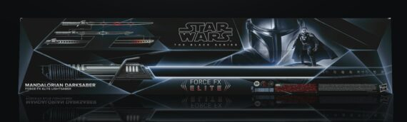 HASBRO – The Mandalorian DARK SABER Force FX