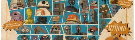 Star wars Celebration 2020 : Tous les artworks seront disponibles le 15 décembre