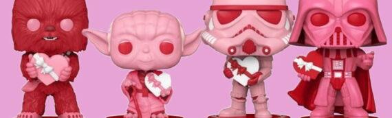 FUNKO – Les POP Star Wars spéciale Saint Valentin