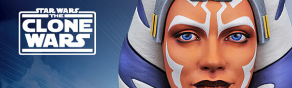 Diamond Select – Legend in 3D : Le buste d'Ahsoka Tano