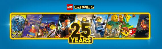 Les jeux vidéos LEGO fêtent leurs 25 ans !!!