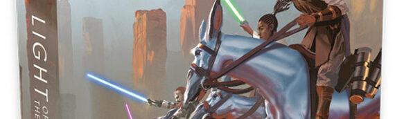 """The High Republic : La couverture de l'édition spéciale du roman """"Light of the Jedi"""" de Charles Soule"""