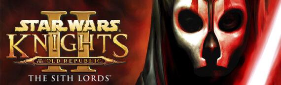 Aspyr : Le jeu KOTOR 2 sur mobile le 18 Décembre