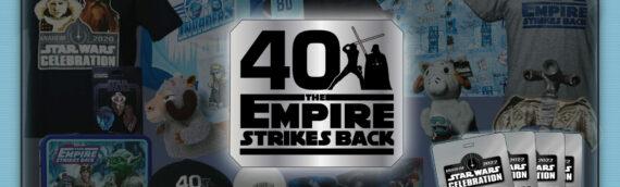 Star Wars Celebration 2020: Concours pour gagner tous les goodies 40thESB et 4 Pass Jedimaster VIP pour 2022