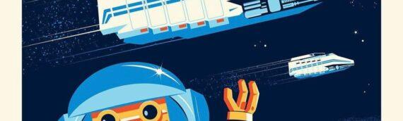 """Endor Express"" le nouvel artwork de Dave Perillo pour le Epcot's International Festival"