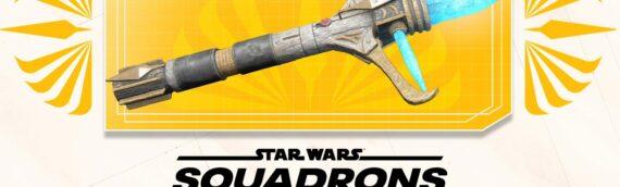 """Star Wars Squadrons – Un sabre laser """"The Hight Republic"""" pour décorer votre vaisseau"""