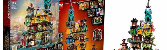 LEGO lève le voile sur le set 71741 Ninjago City Gardens