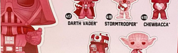 FUNKO  : R2-D2 s'invite dans la gamme Star Wars spéciale Saint Valentin