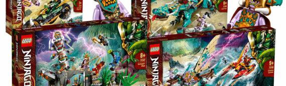 LEGO célèbre les 10 ans de Ninjago en grandes pompes !!!