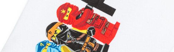 LEGO – Le plein de vêtement NINJAGO pour les petits et grands