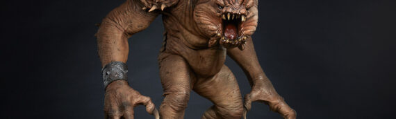Sideshow Collectibles : Les photos de production de la statue deluxe du Rancor