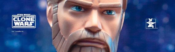 Gentle Giant : The Clone Wars Obi-Wan Kenobi Animated Mini Bust