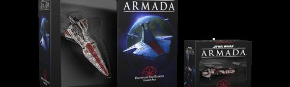 Armada : Les flottes de la république se renforcent avec deux nouveaux vaisseaux