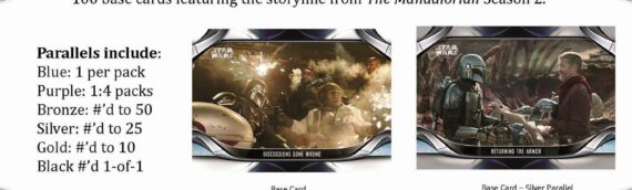 Topps: Le nouveau set The Mandalorian season 2 prévu pour Mai 2021