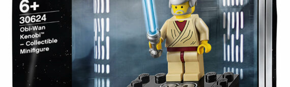 LEGO : Polibag Obi-Wan Kenobi 20th Anniversary disponible chez Zavvi