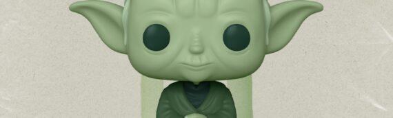 FUNKO POP –  Artist Series Yoda (Military Green) exclu ECCC 2021