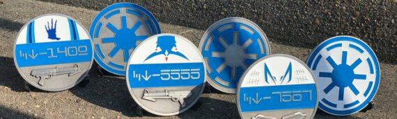Ryloth Relics – 3 nouveaux coins spéciale Clone Trooper 501st