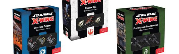 Atomic Mass Games – Xwing : 3 coffrets avec plusieurs vaisseaux bientôt disponibles
