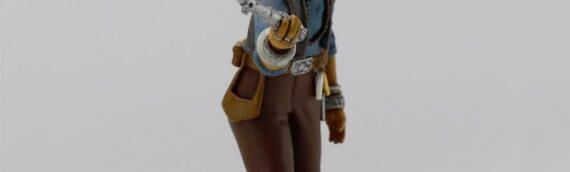 Attakus : La mise en couleur de la statuette Elite de Maz Kanata
