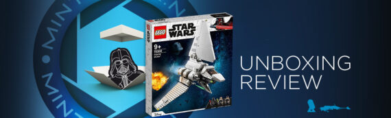 [Mintinbox Open the Box] LEGO Star Wars 75302 Imperial Shuttle