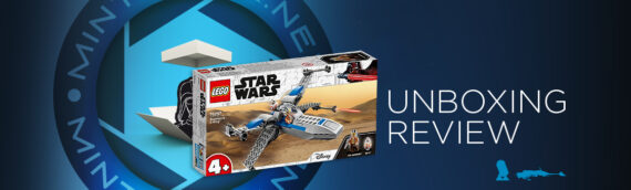 [Mintinbox Open the Box] LEGO Star Wars 75297 Resistance X-wing fighter