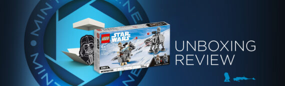 [Mintinbox Open the Box] LEGO Star Wars 75298 Tauntaun & AT-AT Microfighters
