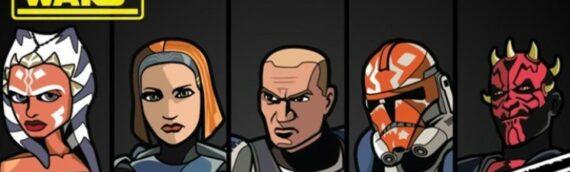 """Figpin : Les 5 nouveaux pin's """"The Clone Wars"""" sont disponibles à la vente"""