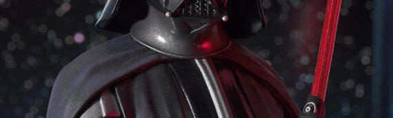 Gentle Giant : Un nouveau buste du Seigneur Vador