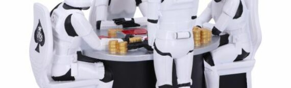 "Nemesis Now : Un diorama ""Stormtrooper Poker Face"" disponible à la vente"