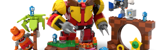 LEGO IDEAS : Sonic Mania – Green Hill Zone